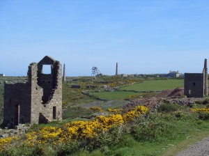 The remains of another Cornish mine.