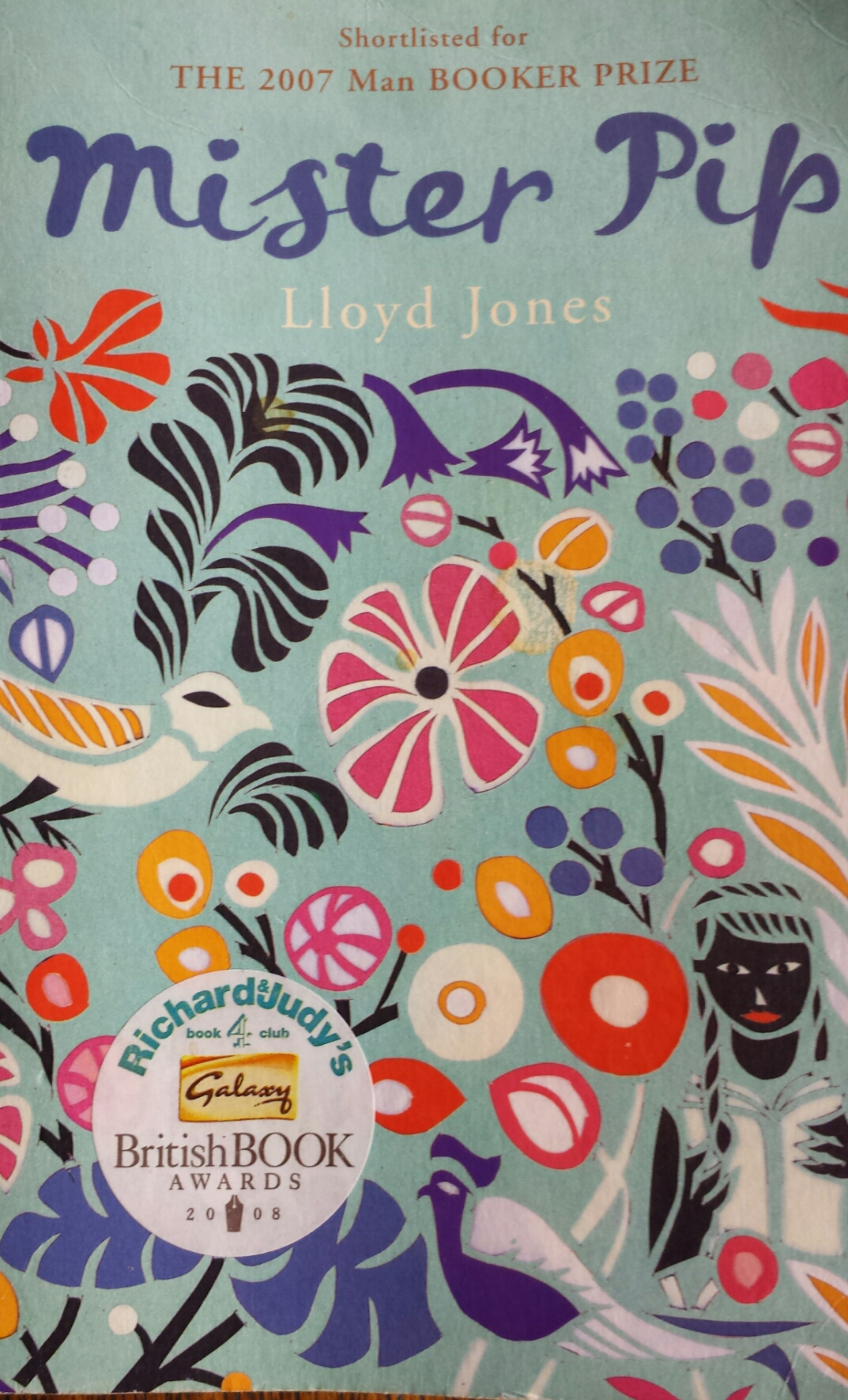 mr pip llyod jones Multiple themes emerge in lloyd jones mister pip  but mr watts and matilda also literally travel from one destination to another.