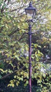 A London lamp-post