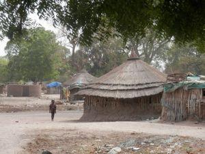 The town of Rumbek, South Sudan
