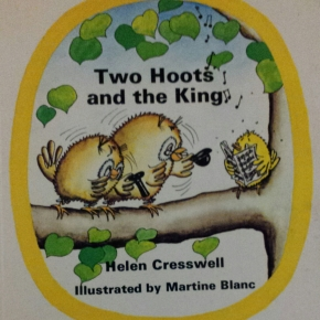 Two Hoots and the King, Helen Cresswell
