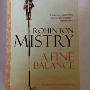A fine balance, RohintonMistry